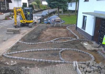 Erdarbeiten Gartenarbeiten Straßenbau