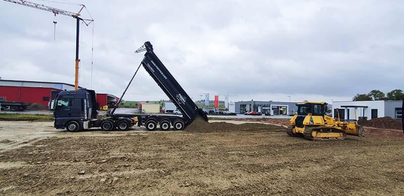 Neubau einer Lager und Betriebsproduktion im Gewerbegebiet in Hofgeismar